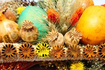 Still life with autumn goods