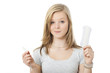 Sanitary or tampon - Binde oder Tampon