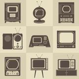 Retro vintage Tv set - 47907881