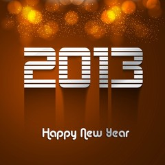 2013  new year fantastic colorful background vector