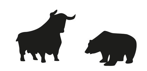 Bulle und Bär, Börse
