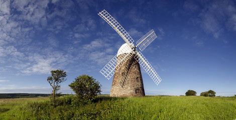 Panorama of Halnaker Windmill