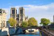 Notre Dame cathedral church, Paris, France
