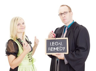 Young woman needs help: legal remedy