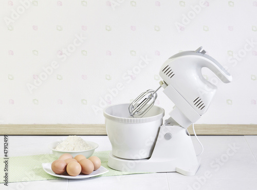 Electric mixer for bake your bread or dessert
