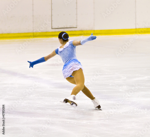 woman figure skater