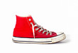 vintage sports red shoes