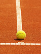 Tennisplatz Linie mit Ball 57