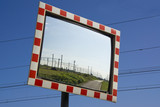 Traffic safety mirror