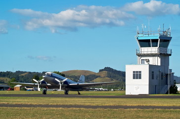 Dakota and Control Tower