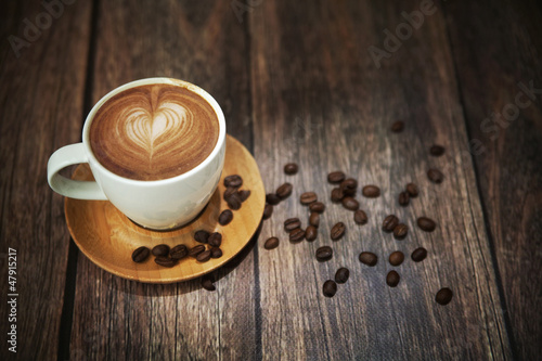 Fototapety, obrazy : Great shoot of coffee cup