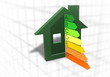 Home energy efficiency symbol