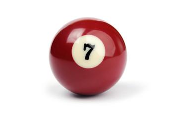 billiard ball number 7