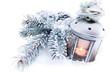 lampada con fiocchi di neve