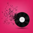 obraz - Abstract music bac...