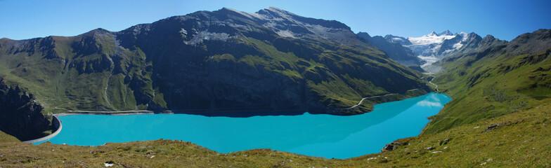 Barrage et glacier de Moiry, Valais, Suisse