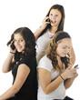Young Teens Phoning