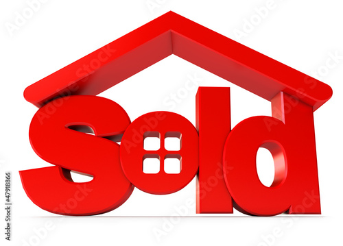 Housing for sale. Icon isolated on white background