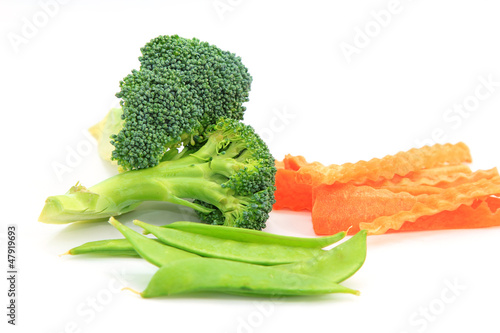 Set vegetables, Fresh broccoli