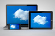 Cloud Computing mit Tablet Computer