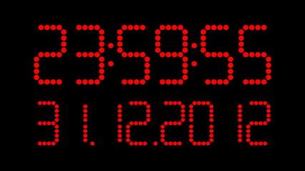 Uhrzeit mit Datum