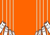 Imaginative orange cover poster