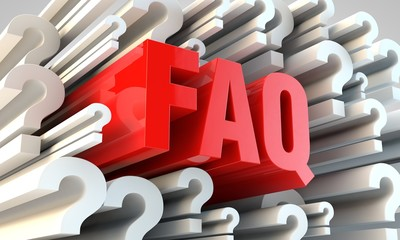 FAQ section