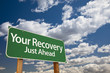Your Recovery Green Road Sign