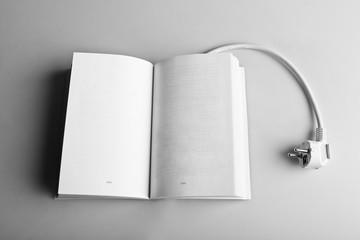 libro apagado