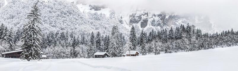 Winter Scenery in Rural France