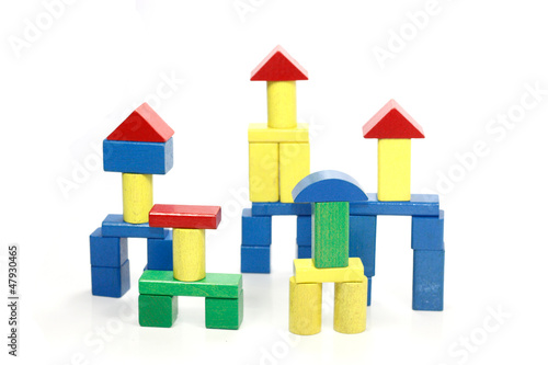 cubes de construction