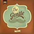 Vintage Mustache Calligraphic And Typographic Background