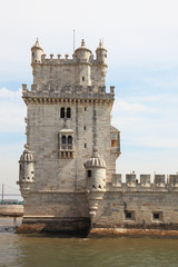 The famous Tower of Belem