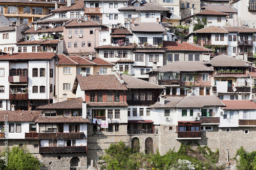 Old town Veliko Tarnovo in Bulgaria