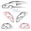 Fast car symbol