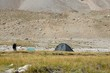 Camp in Archa-Kanysh valley in Pami, Kyrgyzstan