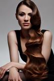 Long Wavy Hair. Good quality retouching. poster