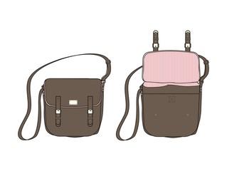bag brown art