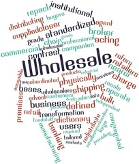 Word cloud for Wholesale