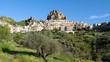 Rocky Village In Sicily
