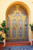 Italy, Ravenna, old medieval door