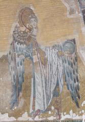 Mosaic artwork in Hagia Sophia Istanbul