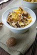 Pasta with walnuts