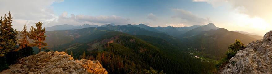 Tatry widok z Nosala