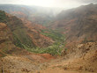 Waimea Canyon as seen from the Pu'u Hinahina Lookout