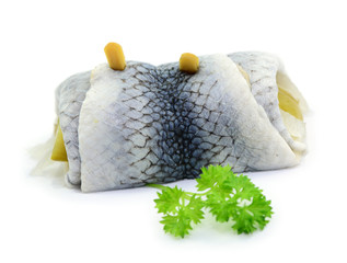 Rollmops, Petersilie