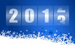 new year 2013 vector illustration