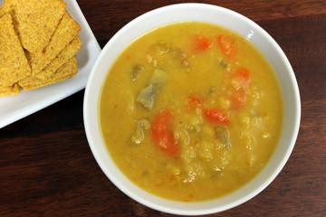 Vegetarian Yellow Split Pea Soup