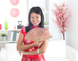 chinese new year girl