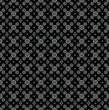 Seamless black wallpaper of paisley